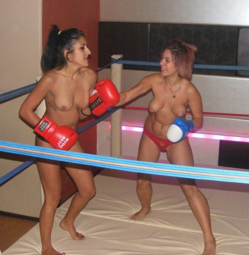 Dailymotion topless boxing
