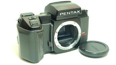 Pentax SFXn Body #411, Pentax Data Back FB
