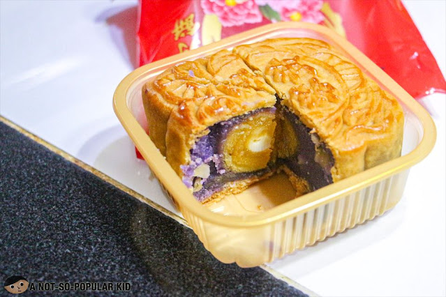 Hongley's Ube Paste w/ 1 yolk