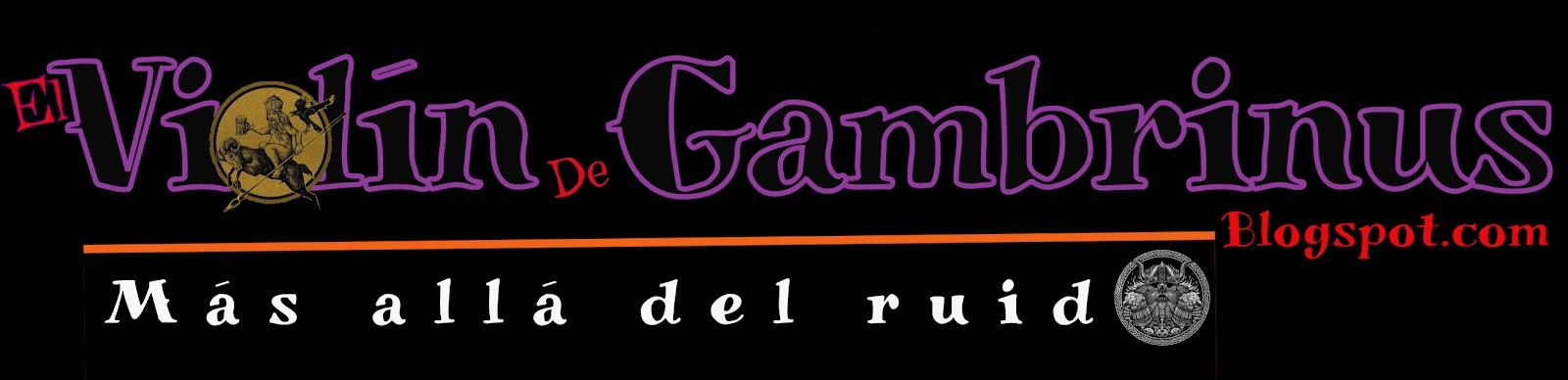 El violín de Gambrinus