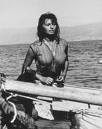 "Sophia Loren ""Boy on a Dolphin"""