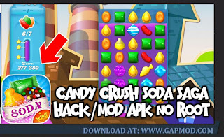 Download Candy Crush Saga v1.171.0.1 APK MOD Unlocked