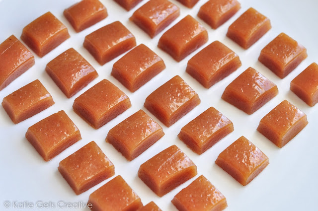 Homemade Goat Milk Caramels from Katie Gets Creative