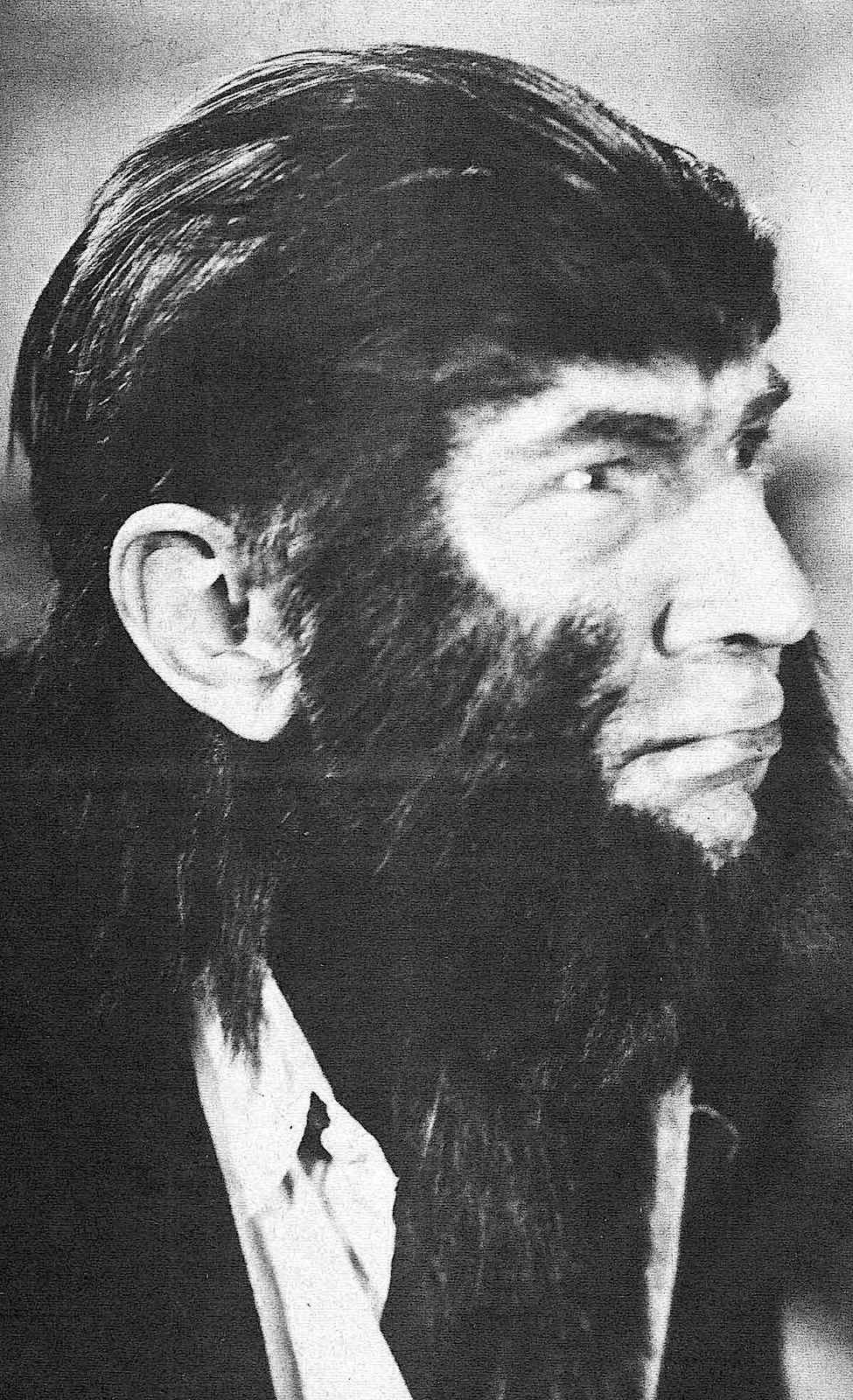 Hollywood monster, dapper gentleman wolfman