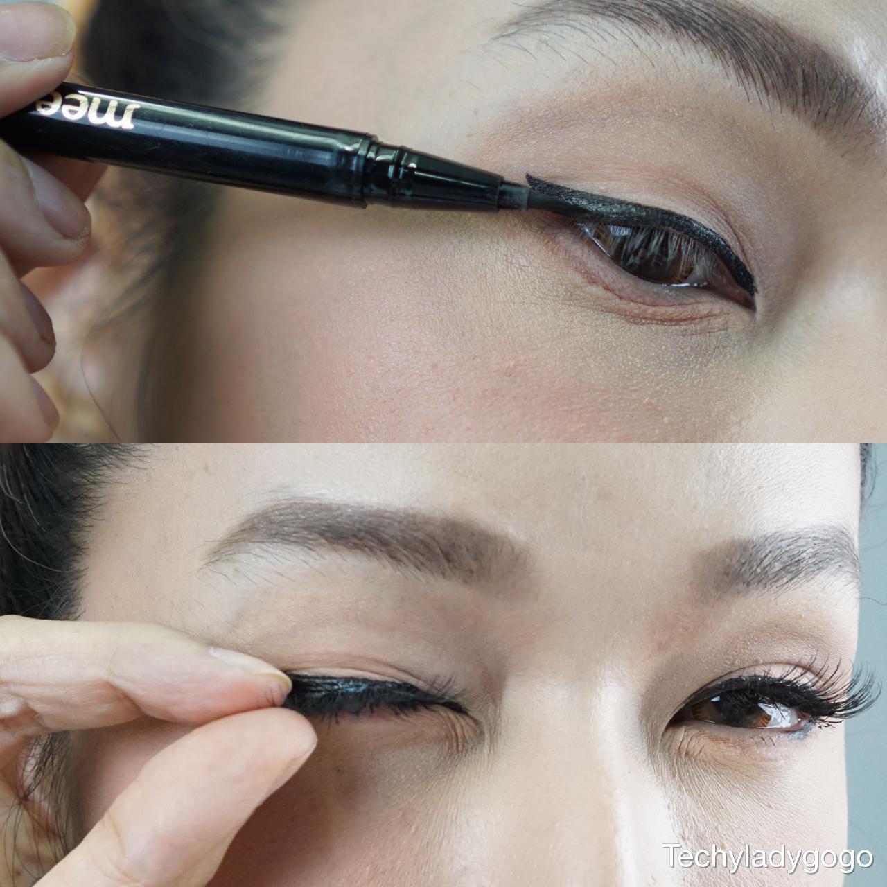Sweet Valentine's Makeup Tutorial ฮาวทูแต่งหน้าสวยหวาน น้ำตาลเรียกเจ๊ mee eyeliner