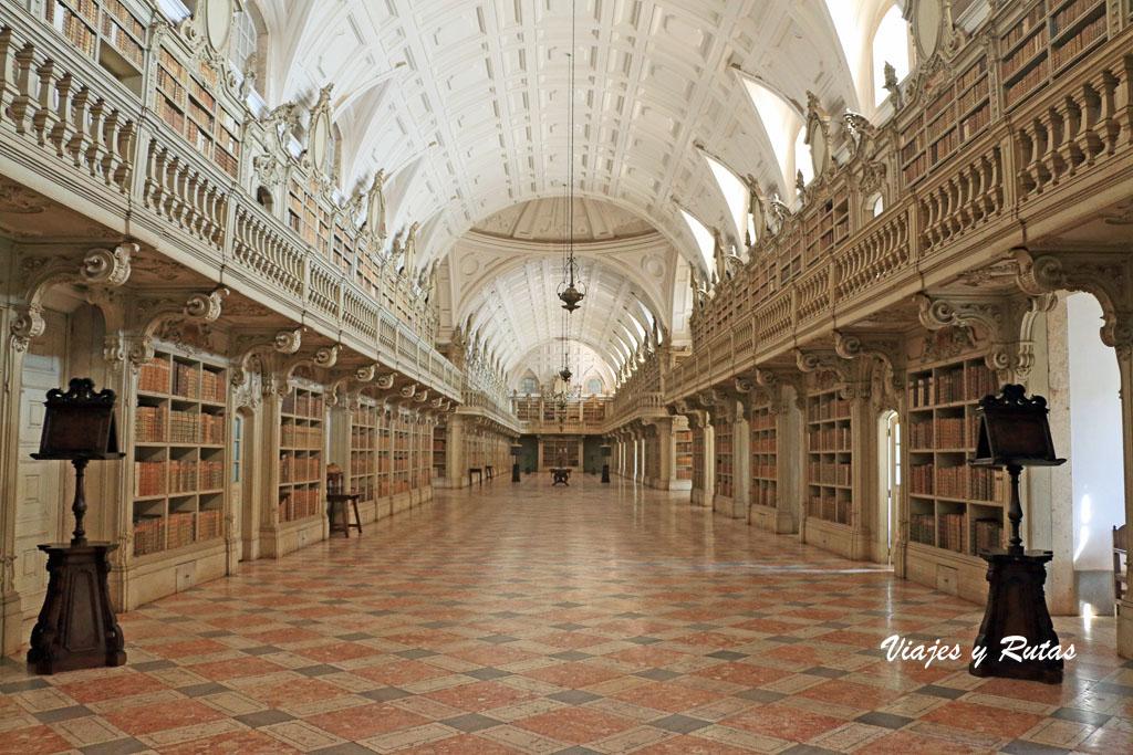 Biblioteca del Palacio de Mafra, Portugal