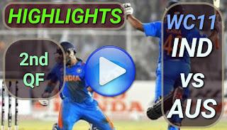 IND vs AUS 2nd QF
