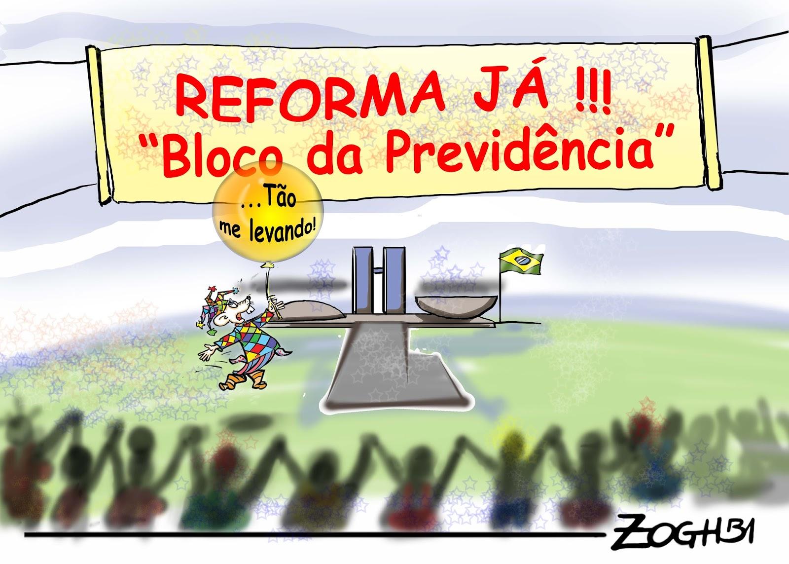 Blog Do Marcelo Freire: O Bloco Da Reforma Da Previdência
