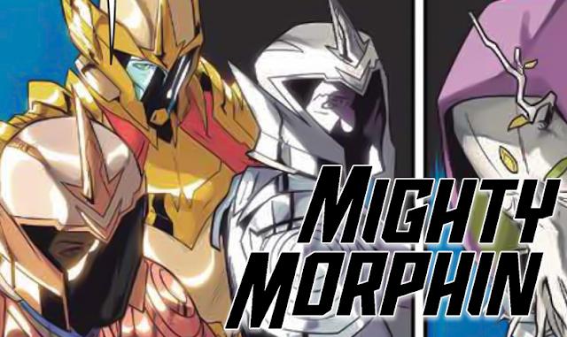 Zordon encontra o Cristal Zeo em prévia de Mighty Morphin #7