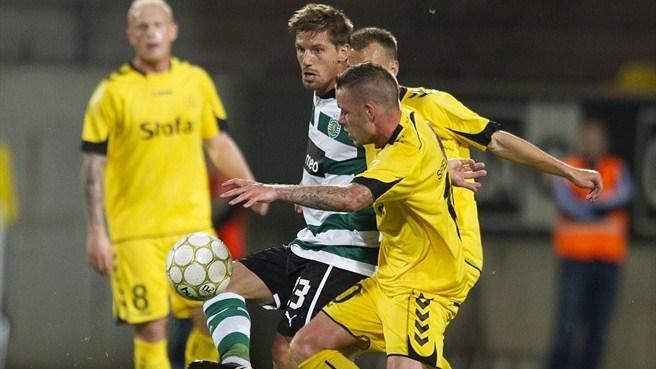 Marítimo e Sporting estão em vantagem para o jogo da segunda mão da  terceira pré-eliminatória da Liga Europa. 58f3da1ecc839