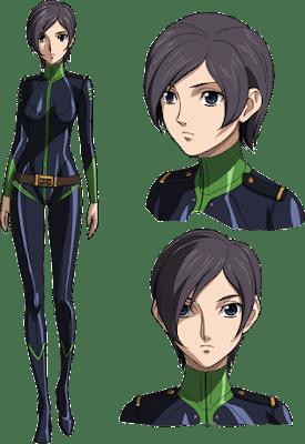 """Nuevo trailer y personajes de """"Uchuu Senkan Yamato 2202: Ai no Senshi-tachi"""""""