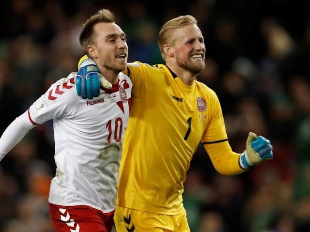 Denmark edge out Switzerland in Euro qualifiers after Ireland draw