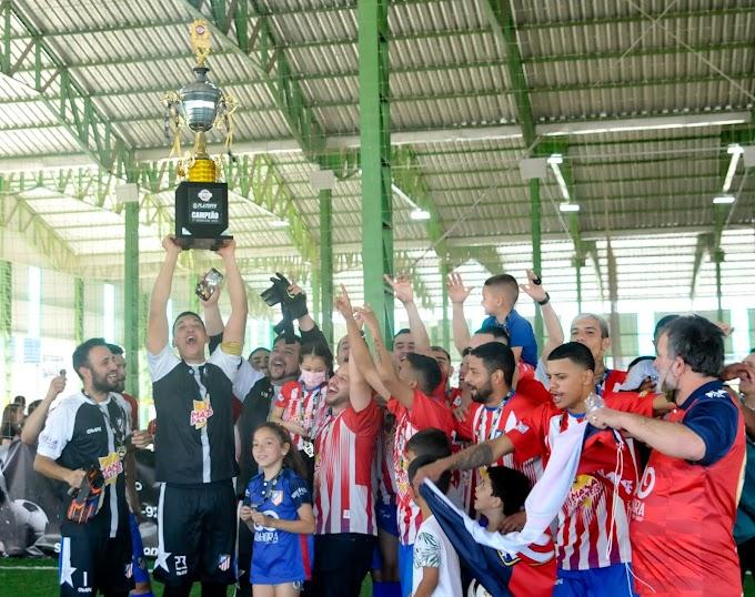 Atlético Cachoeirinha é campeão da Super Liga Gaúcha de futebol 7
