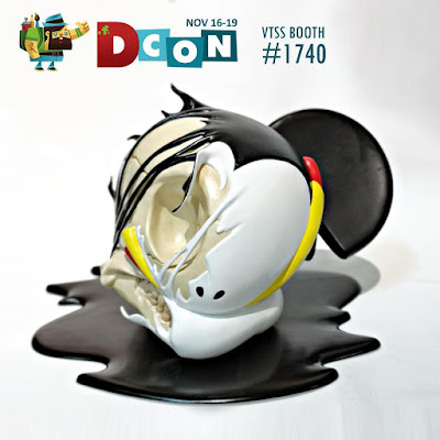 Designer Con 2018 Exclusive Mickiv is Dead Vinyl Figure by Arkiv Vilmansa x VTSS