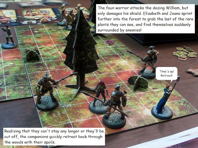 Nova Aetas board game painted play through Quest 1 Rare Grass