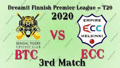 Who will win BTC vs ECC 3rd T20I Match