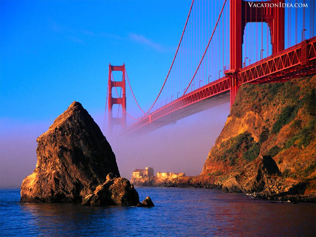 Travel Trip Journey Golden Gate Bridge San Francisco Usa