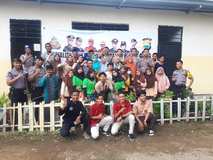 Kapolsek Bajeng Sosialisasi Penerimaan Calon Anggota Polri TA 2020