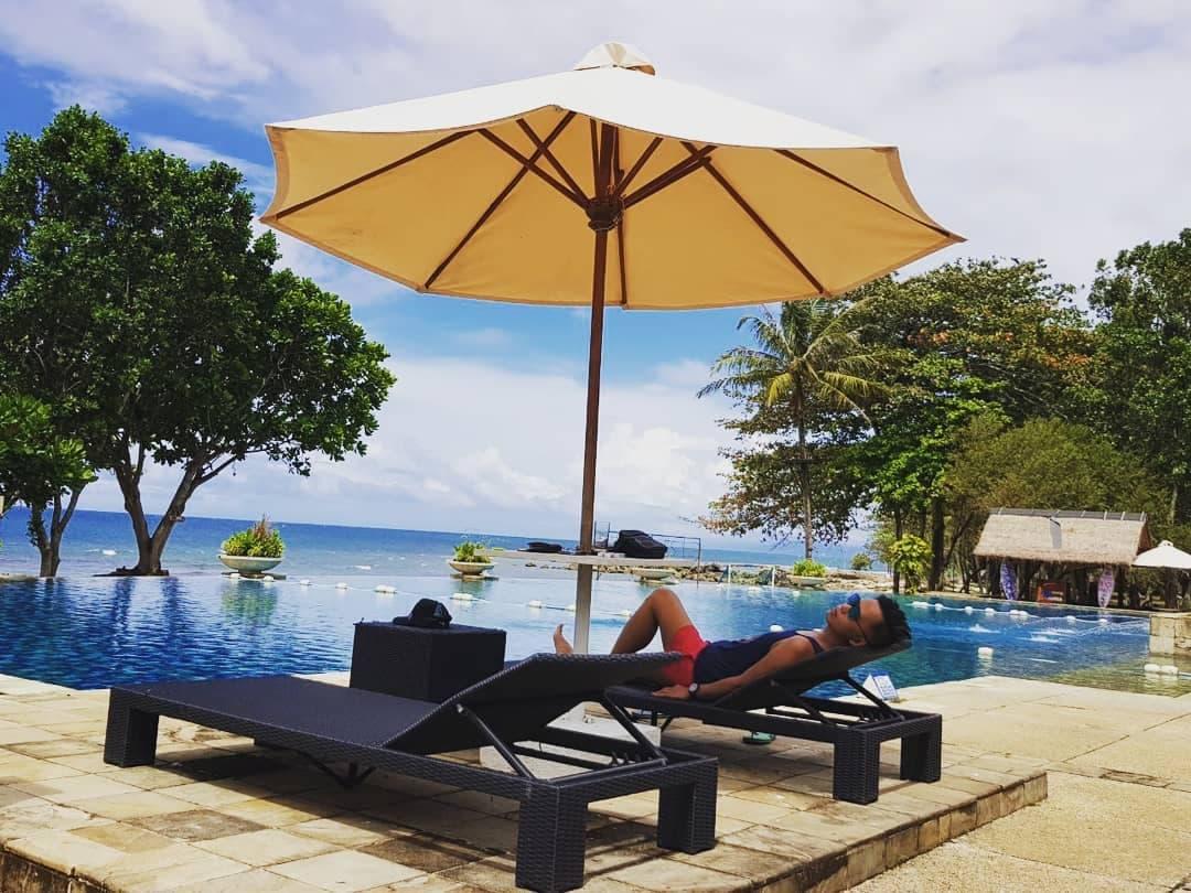 swimming pool tanjung lesung resort