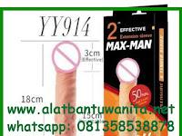 Alat Bantu Pria Kondom Sambung 50MM Max-man