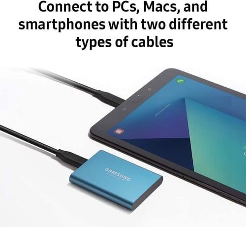 Review Samsung T5 Portable 1TB External SSD