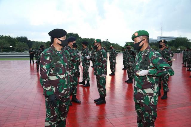 Ribuan Anggota TNI dan Polri Dikerahkan Untuk Edukasi New Normal