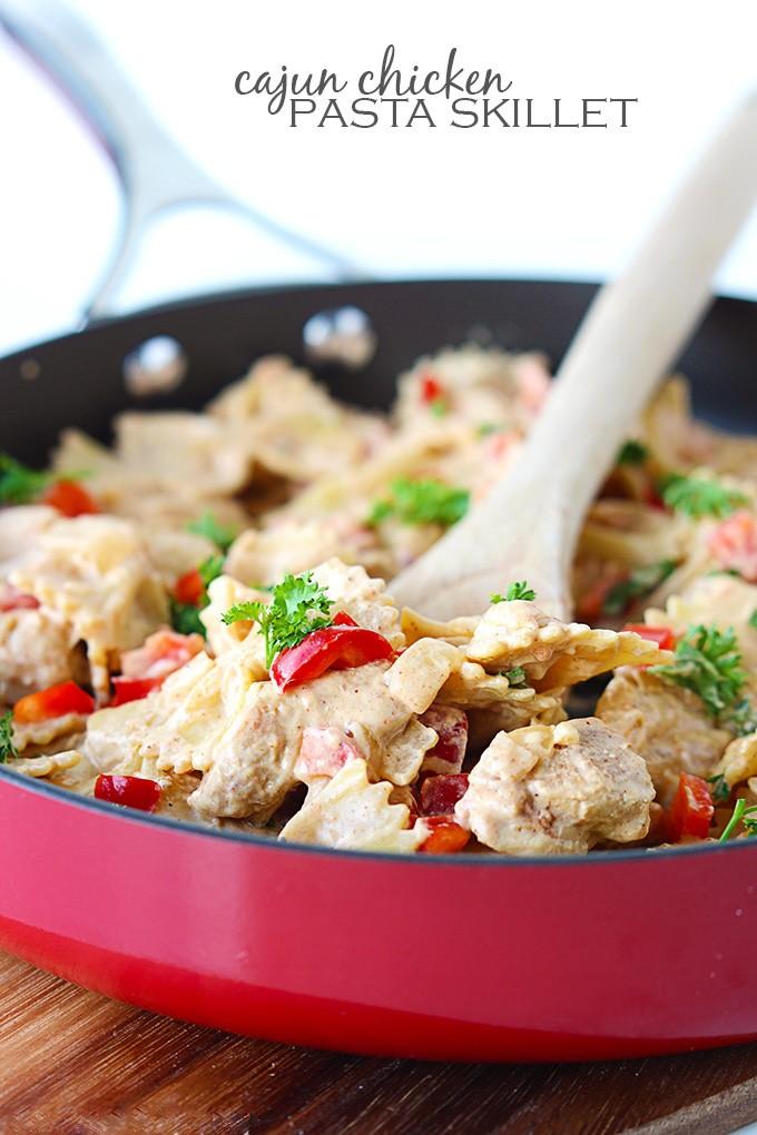 Cajun Chicken Pasta Skillet Cooks Network