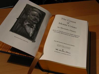 The Count of Monte Cristo book - Alexandre Dumas