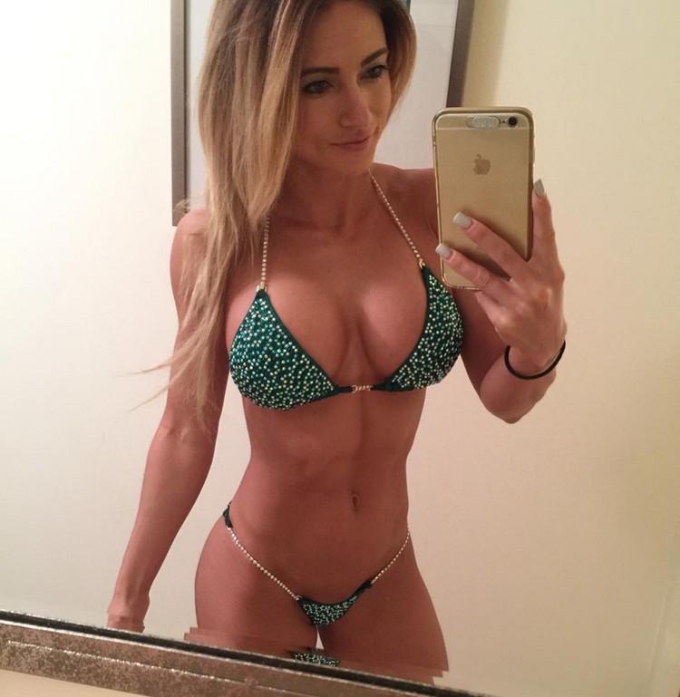 Alyssa Germeroth, female fitness model 0005