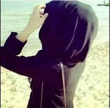 stylish girl pic hiding face
