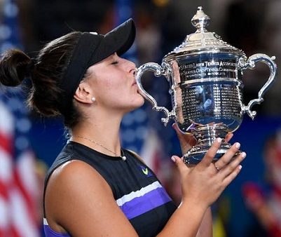 first ever candian Bianca Andreescu to make history to beats 23th slam champion Serena Williams to win US Open 2019 title