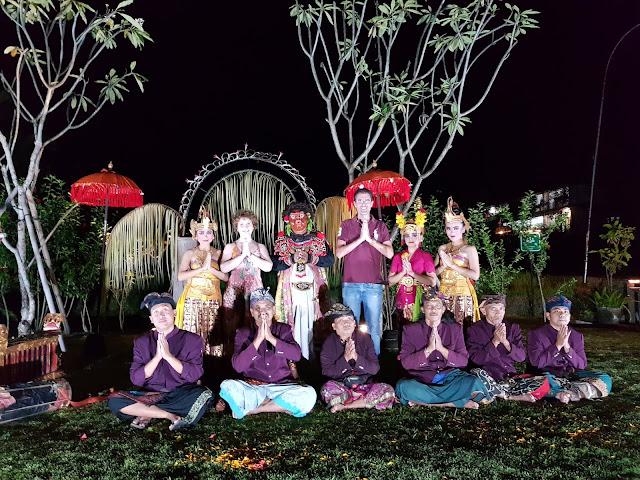 Alaya Ubud resort-Bali-spettacolo tipico balinese