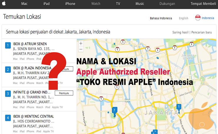 60+ Nama dan Lokasi Lengkap Apple Reseller Authorized Resmi di Indonesia