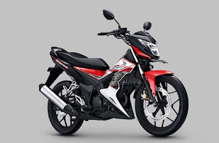 Warna Honda Sonic 150R Energetic Red
