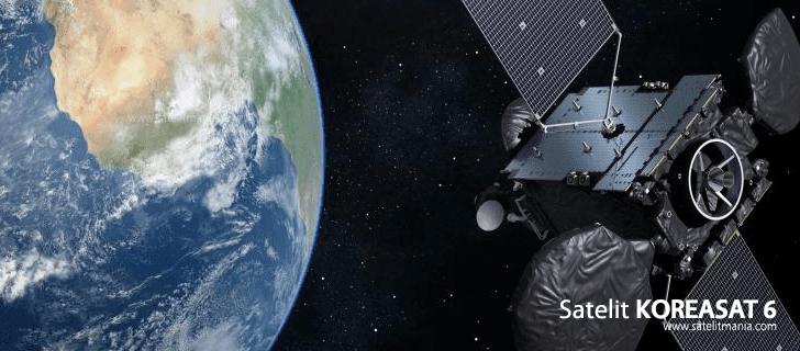 Frekuensi dan Simbol Rate Untuk Satelit Koreasat 6