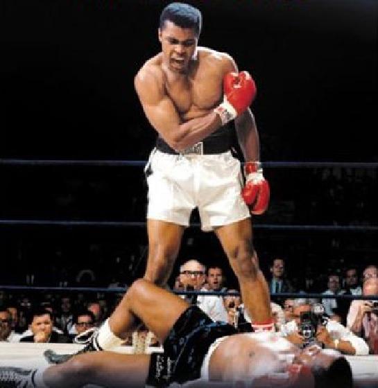 Murió nuestro ídolo en el boxeo Mohame Daly -Cassius Clay …Campeón del mundo!!!