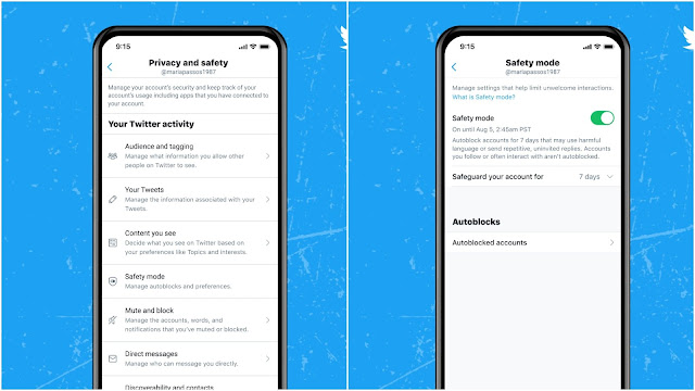 """Twitter tests anti-abuse feature called 'Safety Mode"""""""