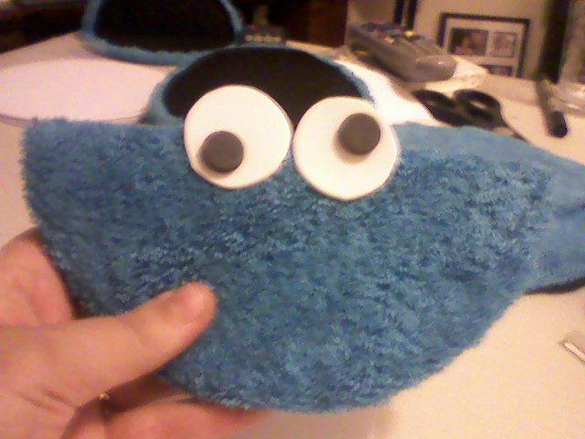 McEwan Madness: Cutest Cookie Monster Invites EVER