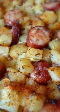 Oven-Roasted Smoked Sausage & Potatoes #recipes #foodandrecipes #food #foodporn #healthy #yummy #instafood #foodie #delicious #dinner #breakfast #dessert #yum #lunch #vegan #cake #eatclean #homemade #diet #healthyfood #cleaneating #foodstagram
