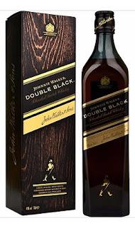 Whisky Johnnie Walker Double Black botella y caja