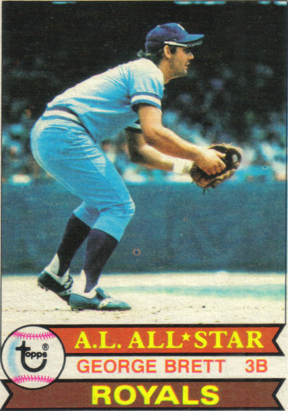 Donruss 1982 The Iconic Series 1979 Topps George Brett Or How