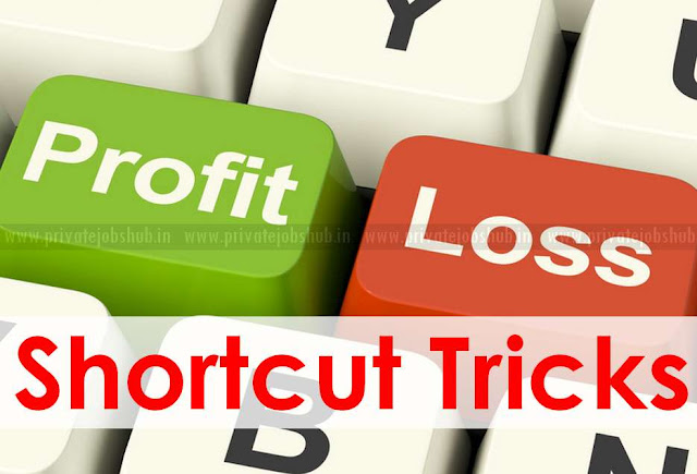 Profit and Loss Shortcut Tricks
