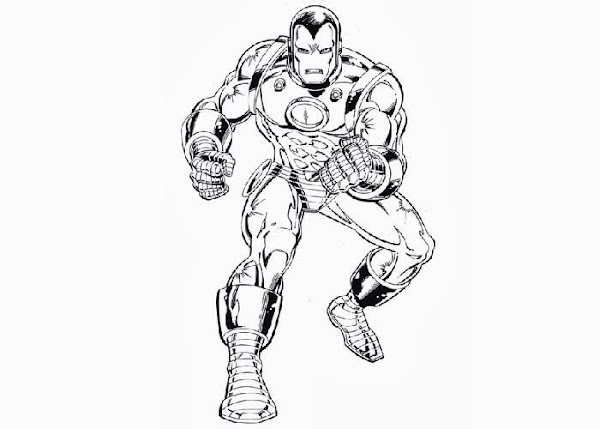 Iron Man Da Stampare: Iron Man Coloring Pages Print
