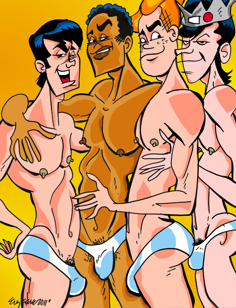 Archie comics parody nude porn pictures