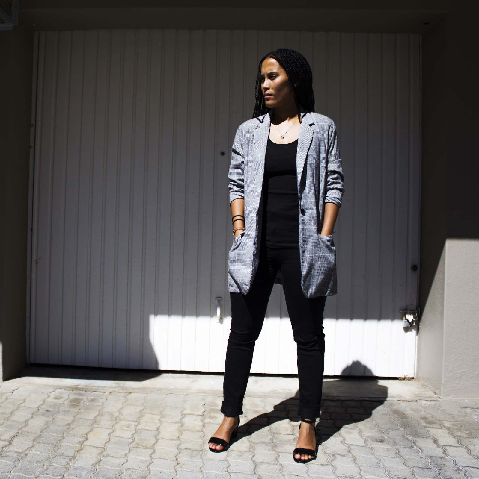 Liezel-Esquire-check-blazer