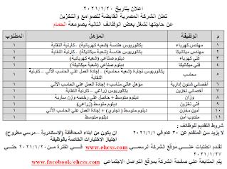 وظائف وزارة التموين والتجارة الداخلية 2021