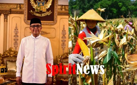 Gubernur Nurdin, Minta Kepala Daerah Selamatkan Para Petani