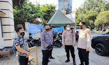 Kapolresta Mataram Pastikan Lokasi Wisata Di Tutup Dan di Jaga Ketat Selama Libur Lebaran
