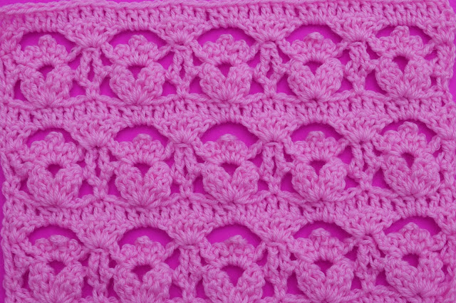 5-Crochet Imagen Puntada de flores a crochet y ganchillo por Majovel Crochet