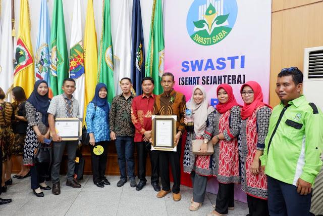 Pemkab Sinjai Terima Swasti Saba Wistara, Sekda : Penghargaan Ini Untuk Masyarakat Sinjai